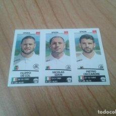 Cromos de Fútbol: FILIPPO DE COL, NICOLAS GIANI, CECCARONI - Nº 703 - SPEZIA - 17/18 - CALCIATORI - PANINI - ITALIA. Lote 171357059