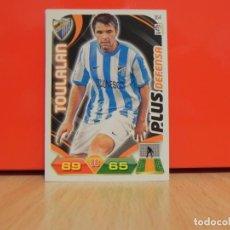 Cromos de Fútbol: ADRENALYN XL 2011 2012 PANINI - TOULALAN ( MALAGA ) - CROMO LIGA 11 12 - PLUS DEFENSA. Lote 171365970