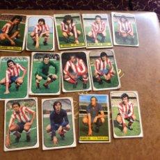 Cromos de Fútbol: LOTE DE 13 CROMOS ATLÉTICO DE MADRID LIGA 76/77 EDICIÓNES ESTE. Lote 171424552