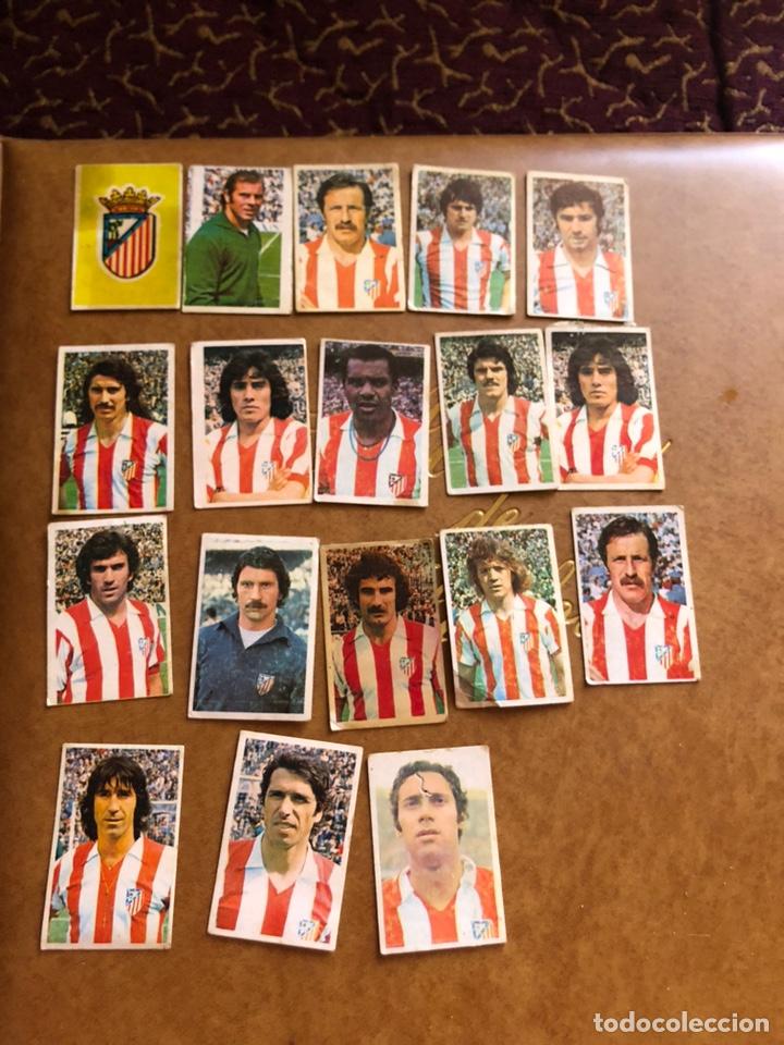 LOTE DE 18 CROMOS CAMPEONATO NACIONAL DE FÚTBOL 1976-1977 (Coleccionismo Deportivo - Álbumes y Cromos de Deportes - Cromos de Fútbol)