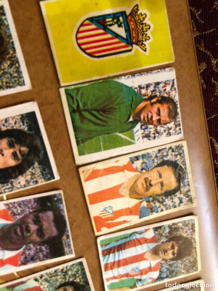 Cromos de Fútbol: Lote de 18 cromos campeonato nacional de fútbol 1976-1977 - Foto 2 - 171424929