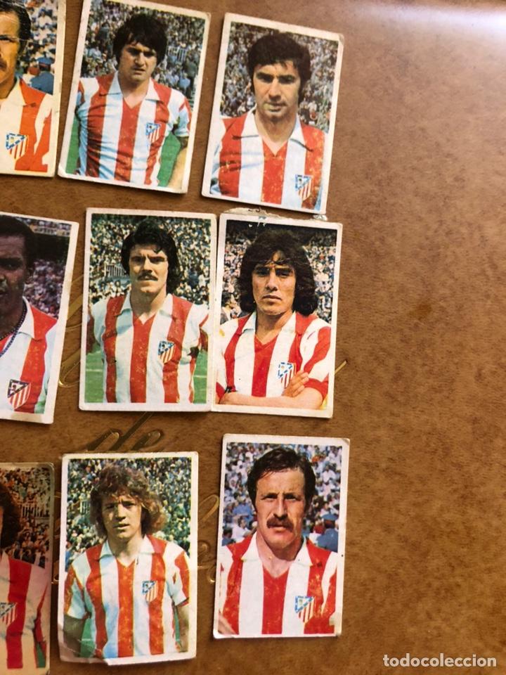 Cromos de Fútbol: Lote de 18 cromos campeonato nacional de fútbol 1976-1977 - Foto 3 - 171424929