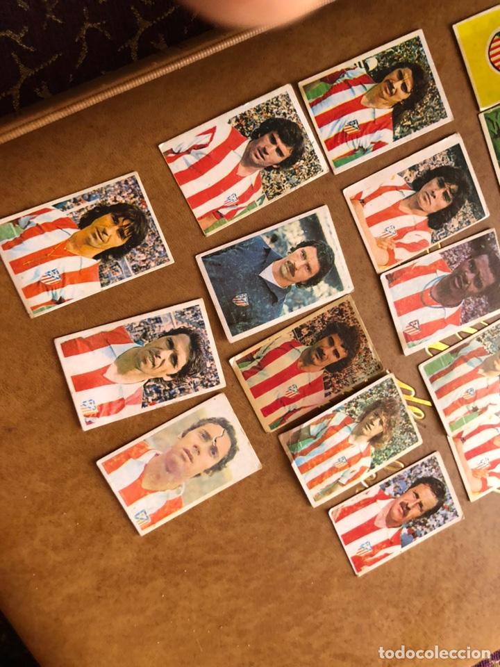 Cromos de Fútbol: Lote de 18 cromos campeonato nacional de fútbol 1976-1977 - Foto 5 - 171424929