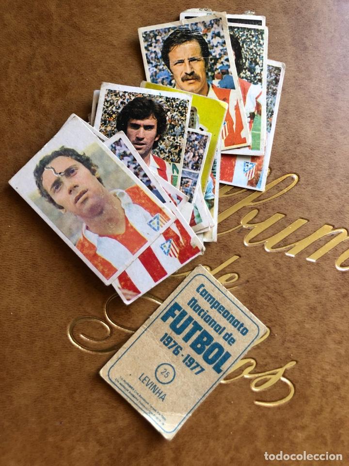 Cromos de Fútbol: Lote de 18 cromos campeonato nacional de fútbol 1976-1977 - Foto 6 - 171424929