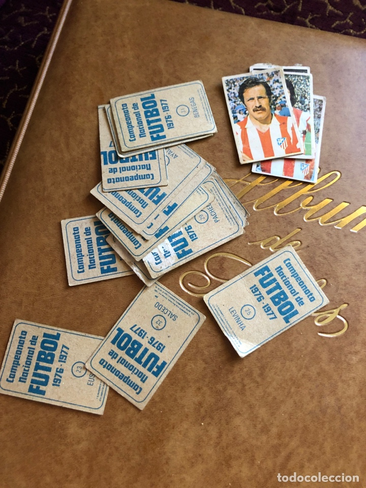 Cromos de Fútbol: Lote de 18 cromos campeonato nacional de fútbol 1976-1977 - Foto 7 - 171424929