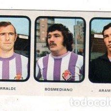Cromos de Fútbol: RUIZ ROMERO. LIGA 73/74. LIZARRALDE. BOSMEDIANO. ARAMAYO. VALLADOLID. Nº 36. NUEVO SIN PEGAR. Lote 171486403