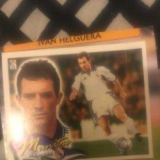 Cromos de Fútbol: ESTE 00 01 2000 2001 REAL MADRID MUNITIS VENTANILLA COLOCA. Lote 171550818
