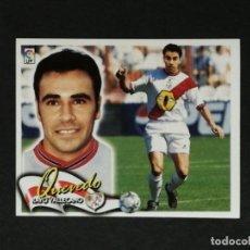 Cromos de Fútbol: RAY QUEVEDO RAYO VALLECANO LIGA ESTE 2000 2001 00 01 NUEVO SIN PEGAR. Lote 171621477