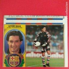 Cromos de Fútbol: CROMO LIGA ESTE 96 97 1996 1997 SIN PEGAR VITOR BAIA BARCELONA ERROR CORTE. Lote 171680428