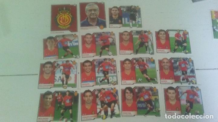 15 CROMOS RCD MALLORCA 2007/08 EDC.ESTE (Coleccionismo Deportivo - Álbumes y Cromos de Deportes - Cromos de Fútbol)