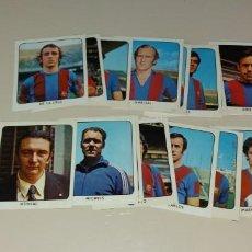 Cromos de Fútbol: LOTE FÚTBOL CLUB BARCELONA KEISA CAMPEONES 1973 1974 73 74, 21 CROMOS DIFERENTES DESPEGADOS. Lote 171745190