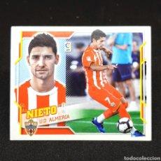 Cromos de Fútbol: (C-22) CROMO ESTE - LIGA 2010 2011 (ALMERÍA) N° 12B NIETO. Lote 171750458
