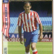 Cromos de Fútbol: SALVA (ATLÉTICO DE MADRID) - Nº 186 - LAS FICHAS DE LA LIGA 2005 - MUNDICROMO.. Lote 171794060