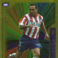Cromos de Fútbol: SERGI (ATLÉTICO DE MADRID) - Nº 188 - BRILLO LISO - LAS FICHAS DE LA LIGA 2005 - MUNDICROMO.. Lote 171794309