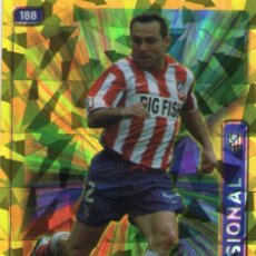 Cromos de Fútbol: SERGI (ATLÉTICO DE MADRID) - Nº 188 - BRILLO TRIÁNGULOS - LAS FICHAS DE LA LIGA 2005 - MUNDICROMO.. Lote 171794393