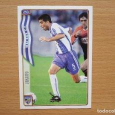 Cromos de Fútbol: 253 JUANITO MALAGA CF MUNDICROMO FICHAS LIGA 2004 2005 04 05 CROMO FUTBOL. Lote 171801318