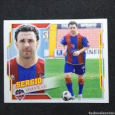Cromos de Fútbol: (C-10) CROMO ESTE - LIGA 2010 2011 (LEVANTE) N° 13 ULTIMOS FICHAJES / SERGIO. Lote 171834225