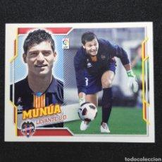 Cromos de Fútbol: (C-10) CROMO ESTE - LIGA 2010 2011 (LEVANTE) N° 2B MUNUA / COLOCA. Lote 171834320