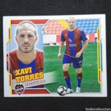 Cromos de Fútbol: (C-10) CROMO ESTE - LIGA 2010 2011 (LEVANTE) N° 9 XAVI TORRES. Lote 171834344