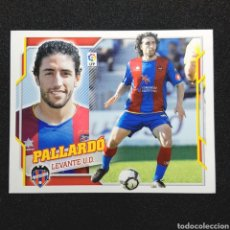 Cromos de Fútbol: (C-10) CROMO ESTE - LIGA 2010 2011 (LEVANTE) N° 8A PALLARDO. Lote 171834578