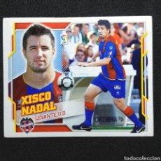 Cromos de Fútbol: (C-10) CROMO ESTE - LIGA 2010 2011 (LEVANTE) N° 13 XISCO NADAL. Lote 171834737