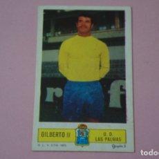 Cromos de Fútbol: CROMO DE FÚTBOL GILBERTO II DEL U.D. LAS PALMAS DESPEGADO LIGA ESTE 1973-1974/73-74. Lote 171946235