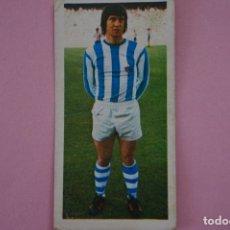 Cromos de Fútbol: CROMO DE FÚTBOL ELCORO DE LA REAL SOCIEDAD DESPEGADO LIGA ESTE 1975-1976/75-76. Lote 172031317