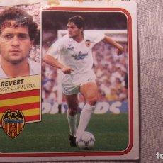 Cromos de Fútbol: REVERT VALENCIA ESTE 89 90 CROMO FUTBOL LIGA 1989 1990. Lote 172038297