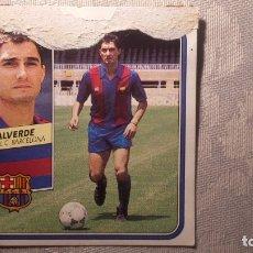 Figurine di Calcio: VALVERDE BARCELONA ED ESTE 89 90 . Lote 172243389