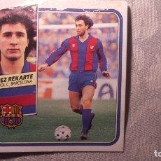 Figurine di Calcio: LOPEZ REKARTE ESCUDO BARCELONA LIGA 89 90 1989. Lote 172243738