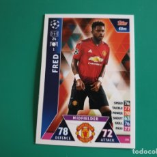 Cromos de Fútbol: 170 FRED - MANCHESTER UNITED - TOPPS MATCH ATTAX CHAMPIONS LEAGUE 2018-19 - 18/19 (NUEVO). Lote 172279445