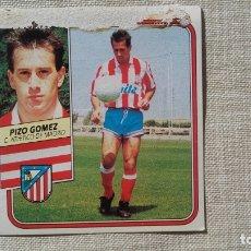 Figurine di Calcio: ESTE 89 90 PIZO GOMEZ ATLETICO MADRID 1989 1990. Lote 172347045