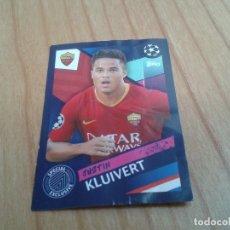 Cromos de Fútbol: JUSTIN KLUIVERT - Nº A3 - ROMA - SPECIAL EXCLUSIVE - CHAMPIONS LEAGUE - 18/19 - TOOPS - NUNCA PEGADO. Lote 172355154