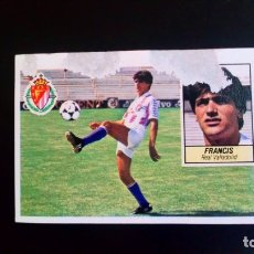 Cromos de Fútbol: FRANCIS FICHAJE Nº7 LIGA ESTE 84 85. Lote 172360160