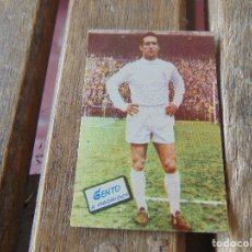 Cromos de Fútbol: CROMO DE FUTBOL EDICIONES FHER TEMPORADA 1960 1961 60 61 REAL MADRID GENTO . Lote 172579052