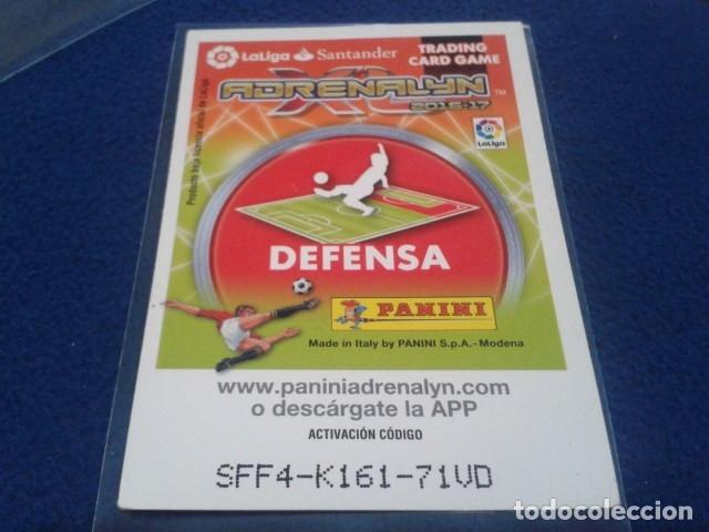 Cromos de Fútbol: CROMO ADRENALYN 2016 - 17 ( CARVAJAL - EDICION LIMITADA ) REAL MADRID - Foto 2 - 172586712