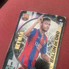 Cartes à collectionner de Football: ADRENALYN 14 15 2014 2015 BARCELONA NEYMAR BALÓN DE ORO 464. Lote 172633970