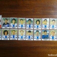 Cromos de Fútbol: R. C. D. ESPAÑOL - 18 CROMOS - EQUIPO COMPLETO - PATERNINA LIGA 1991/92 91/92. Lote 172684168
