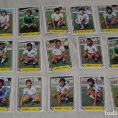 Cromos de Fútbol: R. ZARAGOZA / 15 CROMOS - LIGA 80 81 / 80-81 - EDICIONES ESTE - PLANCHA, SIN USAR, PERFECTOS ¡MIRA!. Lote 172696717