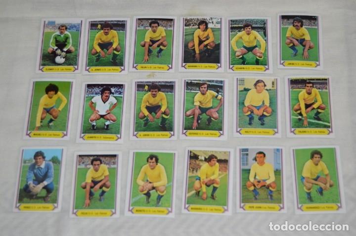 UD LAS PALMAS / 18 CROMOS- LIGA 80 81 / 80-81 - EDICIONES ESTE - PLANCHA, SIN USAR, PERFECTOS ¡MIRA! (Coleccionismo Deportivo - Álbumes y Cromos de Deportes - Cromos de Fútbol)