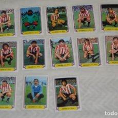 Cromos de Fútbol: ATH DE BILBAO / 13 CROMOS- LIGA 80 81 / 80-81 - EDICIONES ESTE - PLANCHA, SIN USAR, PERFECTOS ¡MIRA!. Lote 172696777