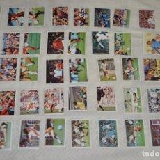 Cromos de Fútbol: FUTBOLISTAS EN ACCION - 44 CROMOS- LIGA 80 81/ 80-81 - EDICIONES ESTE - PLANCHA, SIN USAR, PERFECTOS. Lote 172697115