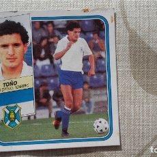 Figurine di Calcio: TOÑO TENERIFE ESTE 89 90. Lote 172778960