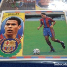 Cromos de Fútbol: CROMO LIGA 96 / 97 ESTE 1996- 1997 ( RONALDO - VERSION PELO ) F.C. BARCELONA NUEVO NUNCA PEGADO. Lote 172797012