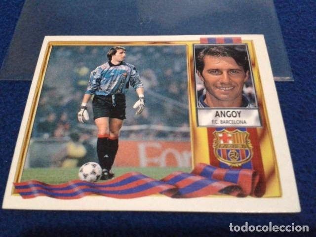 CROMO LIGA 95 / 96 ( ANGOY ) COLOCA F.C. BARCELONA NUEVO NUNCA PEGADO RESERVADO F*****O (Coleccionismo Deportivo - Álbumes y Cromos de Deportes - Cromos de Fútbol)