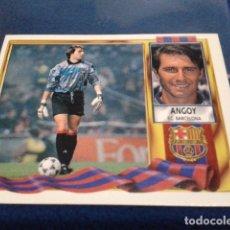 Cromos de Fútbol: CROMO LIGA 95 / 96 ESTE 1995- 1996 ( ANGOY ) COLOCA F.C. BARCELONA NUEVO NUNCA PEGADO. Lote 172797395
