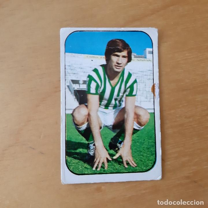 EDICIONES ESTE 1976 1977 - 76 77 - REAL BETIS - LOPEZ (Coleccionismo Deportivo - Álbumes y Cromos de Deportes - Cromos de Fútbol)