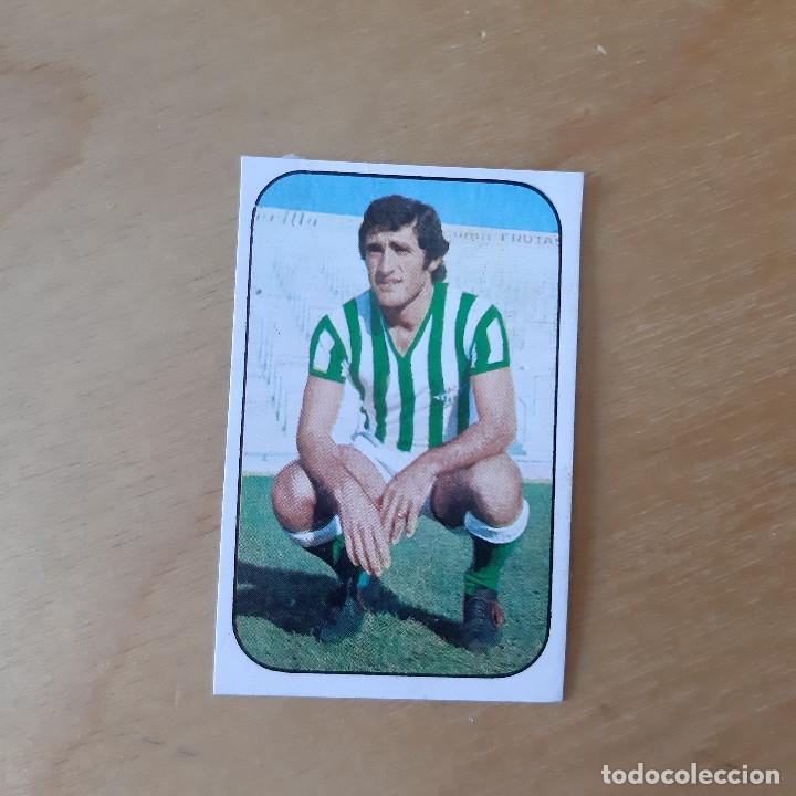 EDICIONES ESTE 1976 1977 - 76 77 - REAL BETIS - BIZCOCHO (Coleccionismo Deportivo - Álbumes y Cromos de Deportes - Cromos de Fútbol)