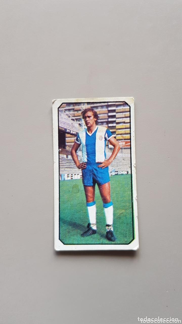 CROMO SIN PEGAR LIGA ESTE 77 78 1977 1978 FICHAJE 18 FLORES ESPAÑOL (Coleccionismo Deportivo - Álbumes y Cromos de Deportes - Cromos de Fútbol)