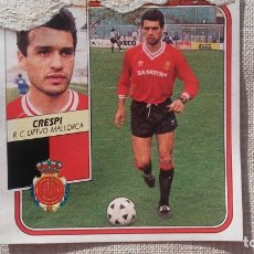 Figurine di Calcio: CRESPI MALLORCA ED ESTE LIGA 89 90 1989 . Lote 173163677